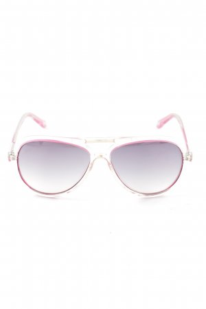 Michael Kors ovale Sonnenbrille pink-hellgrau Casual-Look