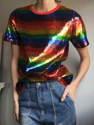 Michael Kors Pailietten Pride Regenbogen Shirt