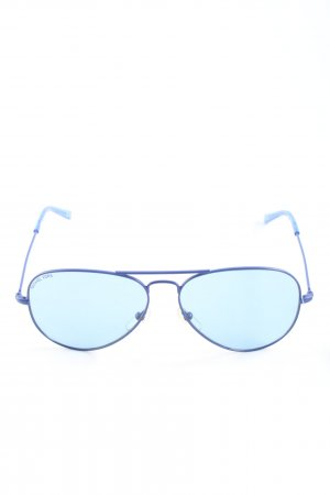 Michael Kors Gafas de piloto azul look casual