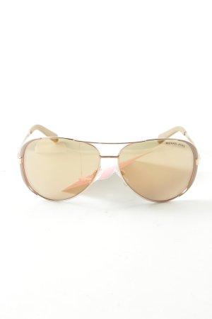 Michael Kors Pilotenbril goud casual uitstraling