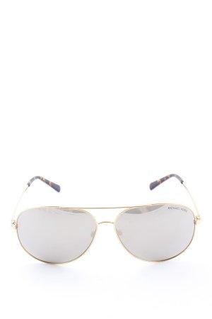 Michael Kors Aviator Glasses gold-colored-black brown tortoise pattern
