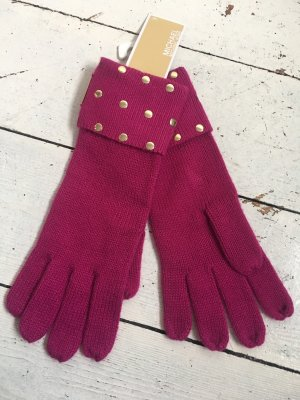 Michael Kors Gloves pink-gold-colored