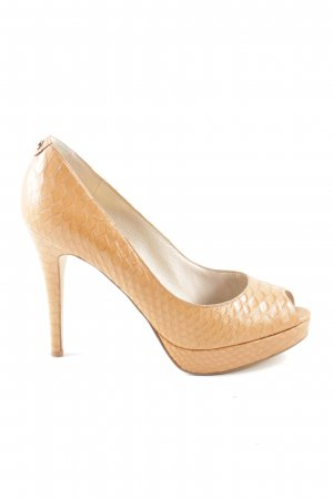 Michael Kors Plateau-Pumps nude Allover-Druck Casual-Look
