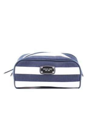 Michael Kors Pochette blue-white striped pattern casual look