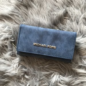 Michael Kors Portemonnee blauw