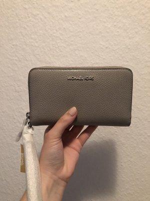 Michael Kors Wallet grey-light grey leather