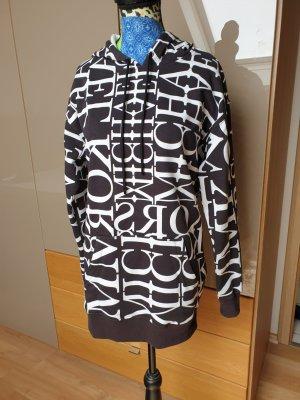 Michael Kors Hooded Sweater white-black