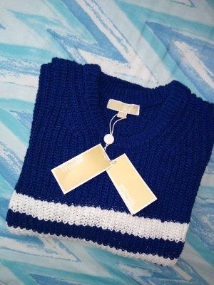 Michael Kors Maglione lavorato a maglia bianco-blu