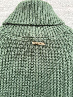 Michael Kors Jersey de cuello alto verde bosque