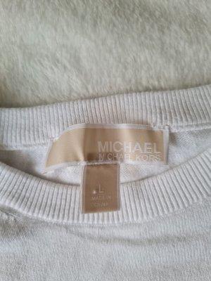 Michael Kors Jersey de punto blanco-blanco puro