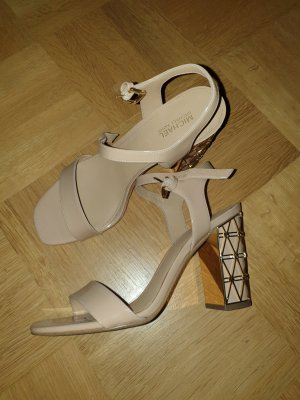 Michael Kors Strapped pumps nude