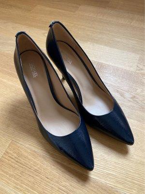 Michael Kors Tacones altos azul oscuro Cuero