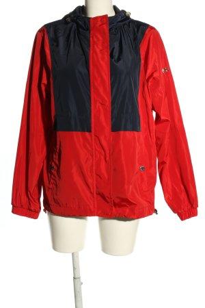 Michael Kors Impermeabile rosso-nero stile casual
