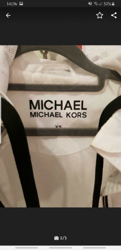 Michael Kors Raincoat white
