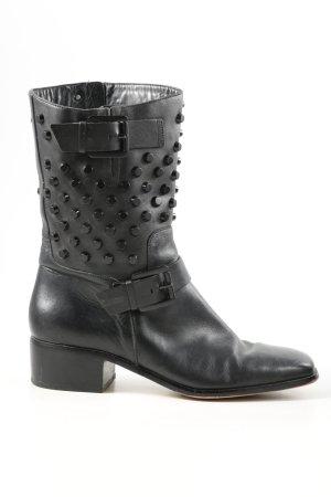 Michael Kors Zipper Booties black extravagant style