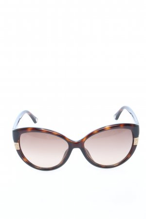 Michael Kors Retro Glasses brown-light orange allover print casual look