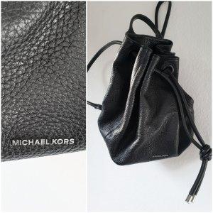 Michael Kors Mochila escolar negro-color plata Cuero