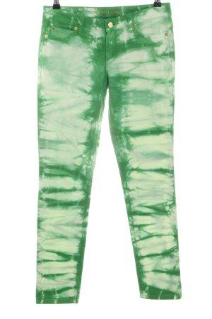 Michael Kors Röhrenhose grün Farbverlauf Casual-Look