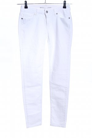 Michael Kors Jeans a sigaretta bianco stile casual