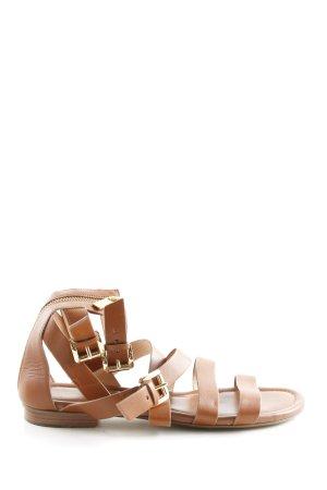 Michael Kors Roman Sandals brown casual look