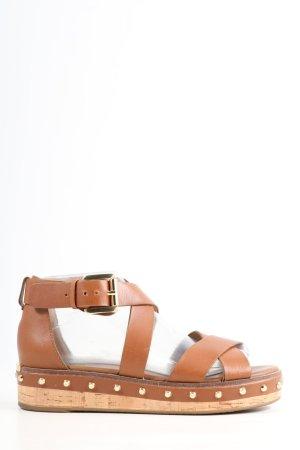 Michael Kors Romeinse sandalen bruin casual uitstraling