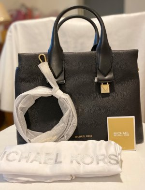 Michael Kors Rollins LG Satchel Bag Black *NEU*