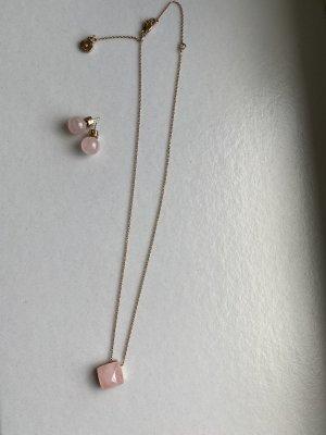 Michael Kors rose quartz Schmuckset