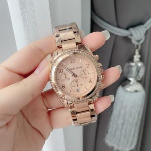 Michael Kors Analoog horloge roségoud Metaal