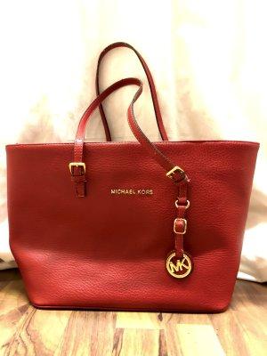 Michael Kors Rote Handtasche Shopper