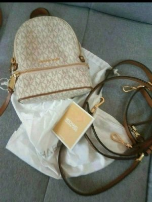 Michael Kors Mini Backpack cream