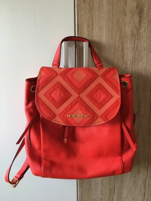 Michael Kors Trekking Backpack dark orange