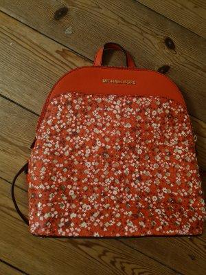 Michael Kors Mini Backpack red