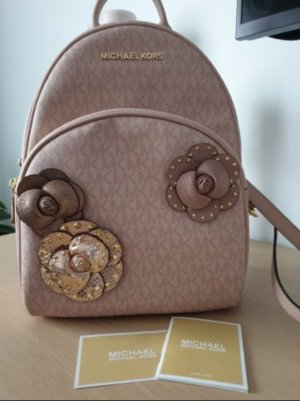Michael Kors Laptop Backpack rose-gold-coloured