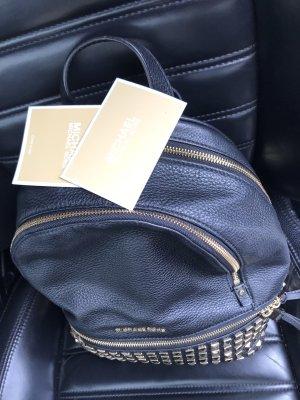 Michael Kors Backpack Trolley black leather