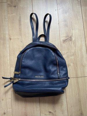 Michael Kors Daypack dark blue leather