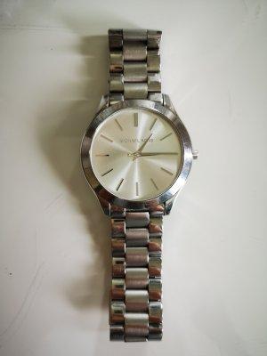 Michael Kors Reloj con pulsera metálica color plata