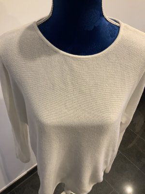 Michael Kors Crewneck Sweater white-gold-colored cotton