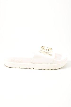 Michael Kors Sabots white casual look