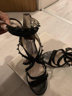 Michael Kors Sandale schwarz mit Nieten