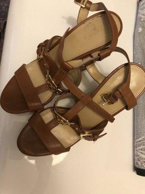 Michael Kors Wedge Sandals brown