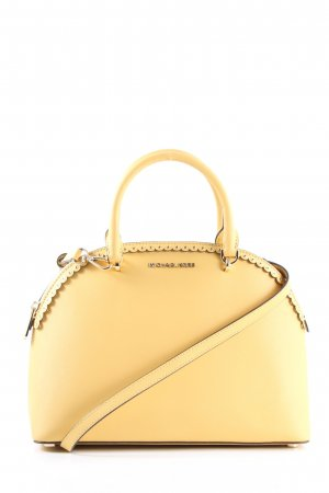Michael Kors Satchel blassgelb Business-Look