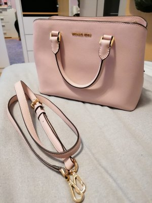 "Michael Kors ""Savannah LG Leather Satchel Blossom"""