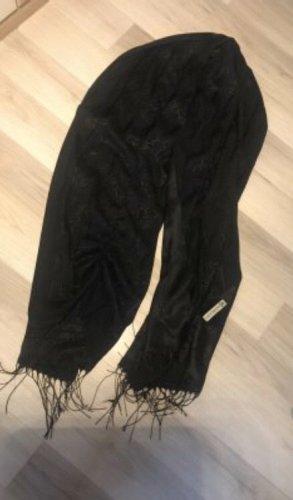 Michael Kors Sjaal met franjes zwart
