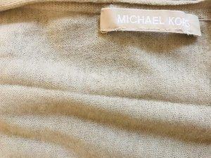 Michael Kors Bufanda de seda crema