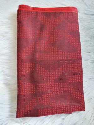 Michael Kors Sjaal met franjes rood-donkerrood