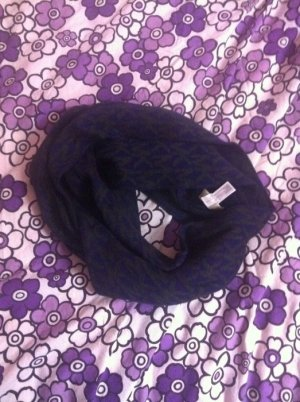 Michael Kors Tube Scarf brown violet-anthracite