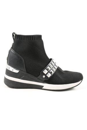 Michael Kors Schlüpfsneaker schwarz Casual-Look