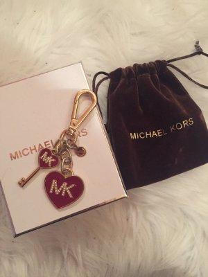Michael Kors Porte-clés rouge foncé