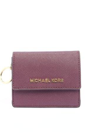 Michael Kors Étui porte-clés violet style décontracté