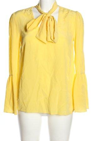 Michael Kors Schlupf-Bluse blassgelb Casual-Look